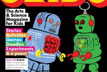 OKIDO Digital 15 / Digital images of Okido 15 which is all about robots!  / by OKIDO Magazine
