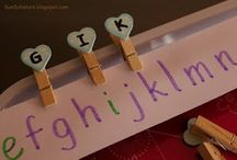 education - letter recognition / by Krista Leach Tate