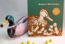 Make Way for Ducklings by Robert McCloskey- Ivy Kids kit October 2015
