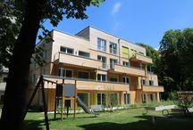 Holzbau Mehrfamilöienhäuser