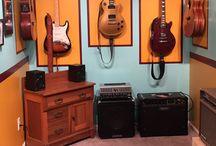 вешалка гитара