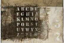 Text on art