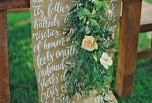Calligraphy & Table Runners / Beautiful examples of calligraphy table runners