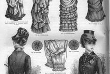 General historical fashion inspiration / A board for costumes of all sorts of periods with details I like