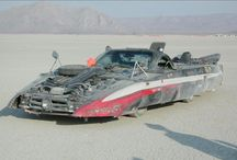 Mutant Vechicles / No street legal vehicles often found at burning man