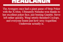 Bland Marvel Headcanon's