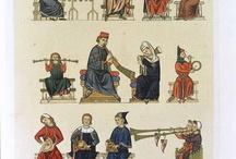 medieval music miniatur