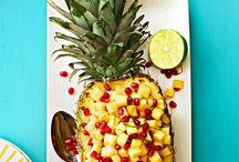 Fruit / Recipes, preparation & presentation.