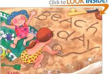 "Beach and Sand / Picture Books and activities for Storytime. See also boards for Ocean Animals; Under the Sea Library Program; Recipes for Storytime; and Sandcastles. ""I found a great big shell one day, upon the ocean floor...""     / by Jane McManus"