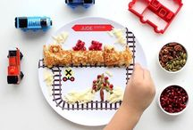 Thomas Snack and Meal Ideas / Train-themed snacks, treats, and meals