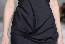Crazy textures, drapes , 3D effect garments