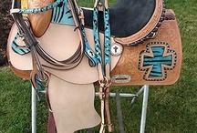 Saddles, bridles, etc..  / by Billie Anderson Rauser