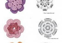 Szydełko Druty Craft / wzory na szydełko, robótki na drutach, crochet patterns, hand made