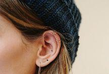 Ear piercings inspiration