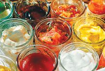Salad dressings and Condiments