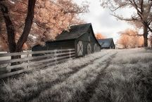 Painting inspiration- Barns, Farms... / by Ashley Anderson