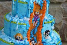 Swimming Cakes