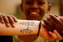 Adoption Tattoos / Tattoos can be a beautiful way to commemorate and honor your adoption. / by Creating a Family