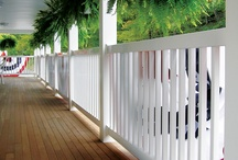 Fairway Vinyl Railing / by Fairway Building Products Porch and Deck Railing