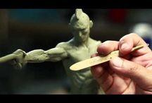 Maquettes n Sculpts