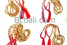 Tassel Beads Necklaces / Simply design exotic casual fashion jewelry accessories