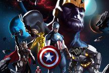 Marvel  & DC Cómics