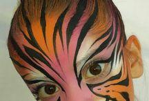 Animal facepaints