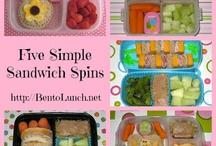 Kids lunch ideas / Ideas for kids school lunches