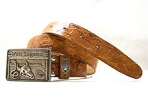 Leather Belts / handmade belts, vintage belts
