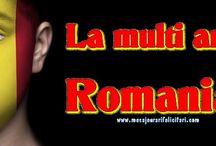"""Felicitari de 1 Decembrie / 1 Decembrie 1918 este Ziua Nationala a Romaniei si marcheaza un eveniment istoric: unirea Transilvaniei cu Romania.  Aceasta zi este un prilej foarte bun pentru toti romanii sa isi ureze cu """"La Multi Ani"""" si sa-si felicite prin felicitari persoanele dragi. La mult ani Romania!"""