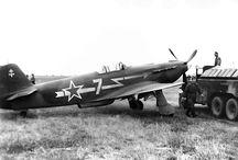 YAK fighters and Normandie Niemen