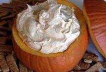 Pumpkin dips
