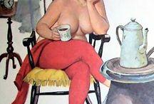 Hilda / The artist's creations