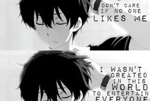 Anime Quotes (Anime in'yō fu) / Follow this board to be added. Please keep this board mature. Thanks ^-^