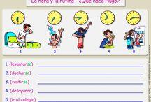 Rutinas diarias ELE A1 / material didáctico para mis clases