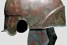 Ancient helmets Calchidian helmets / Calchidian helmet -  Greek helmet - Greek bronze helmet