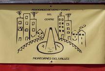 Festa 4º Aniversari de l'AVVCentre / Fiesta del 4º aniversario de la asociación, año 2015