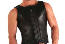 Men in leather