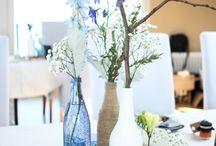 natürliche Hochzeitsdeko - natural wedding / Ideen für eine natürliche Hochzeitsdekoration