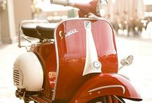 Best of Vespa / Scooters, vespas, piaggios and lambrettas. And The german licenced Lambretta; NSU.
