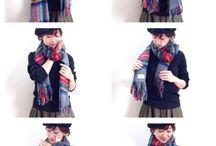 ストール ファッション