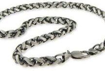Mens Silver Necklaces