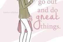 Be brave girl !