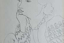 Line Drawings - Matisse