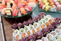 Sushi illalliset