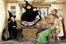 Terry Pratchett. Witches
