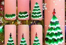nail art christmas
