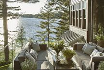 Deck by river