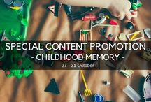 special childhood memory promotion
