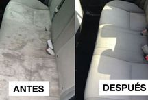 limpiar el coche